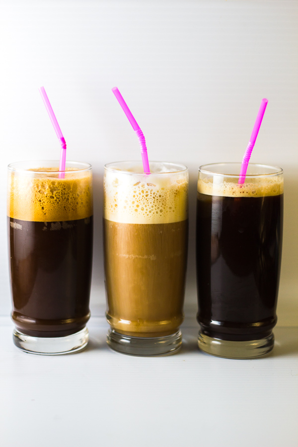 Greek Coffee 3 Ways: Frappe Freddo Cappuccino Espresso | thegreekglutton.com