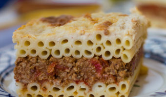 Pastitsio – Greek Lasagna with Cream Sauce