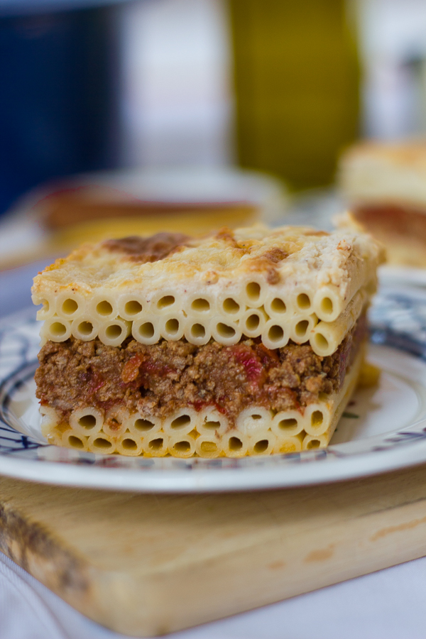Pastitsio - Greek Lasagna w/ Cream Sauce | thegreekglutton.com