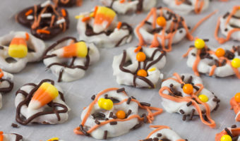 Chocolate Covered Pretzels For Halloween